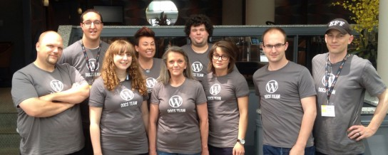 Team of 10 set roadmap for the future of WordPress documentation