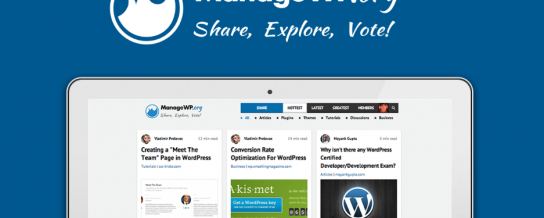 ManageWP.org officially launches as a curated WordPress news site