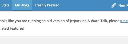 Managing Jetpack enabled blogs on WordPress.com