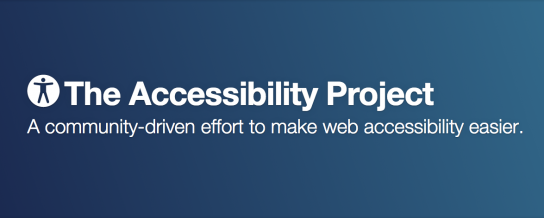 Keep an eye on accessibility in your projects