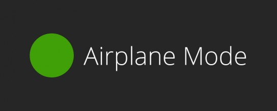 Better local development with Airplane Mode