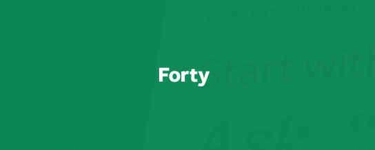 Crowd Favorite to acquire Forty, a UX and design agency