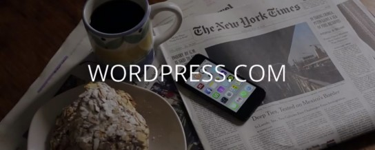 WordPress.com is very mobile centric with their first video ad