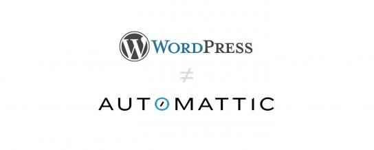 WordPress ≠ Automattic