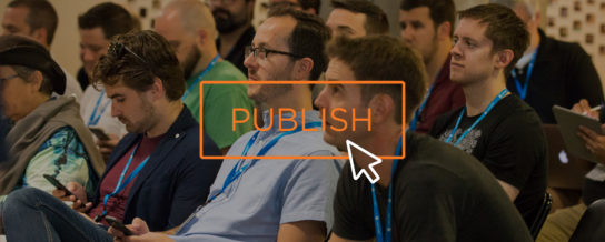 Publish Conference, in pictures