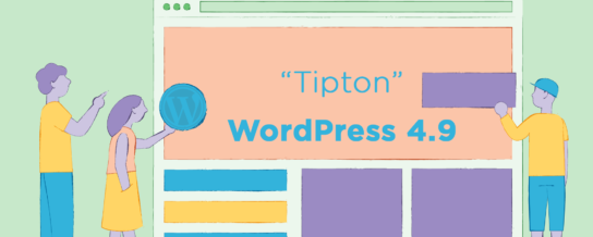 "WordPress 4.9, ""Tipton"", is released with drafts for the customizer"