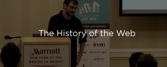 The History of the Web, and WordPress's 15th Birthday -- Draft Podcast