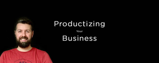 Productizing your service business, with Brian Casel