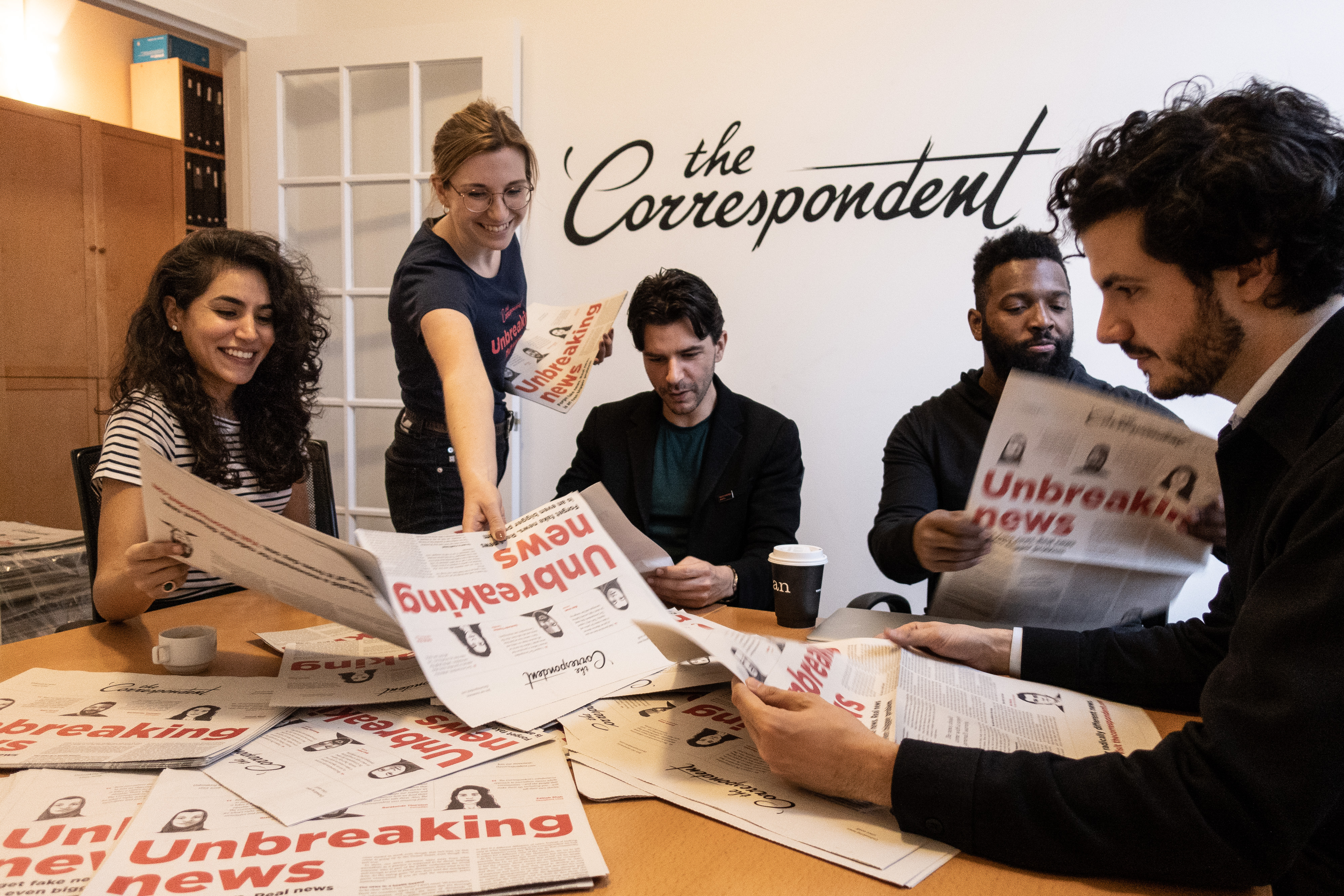 The Correspondent team
