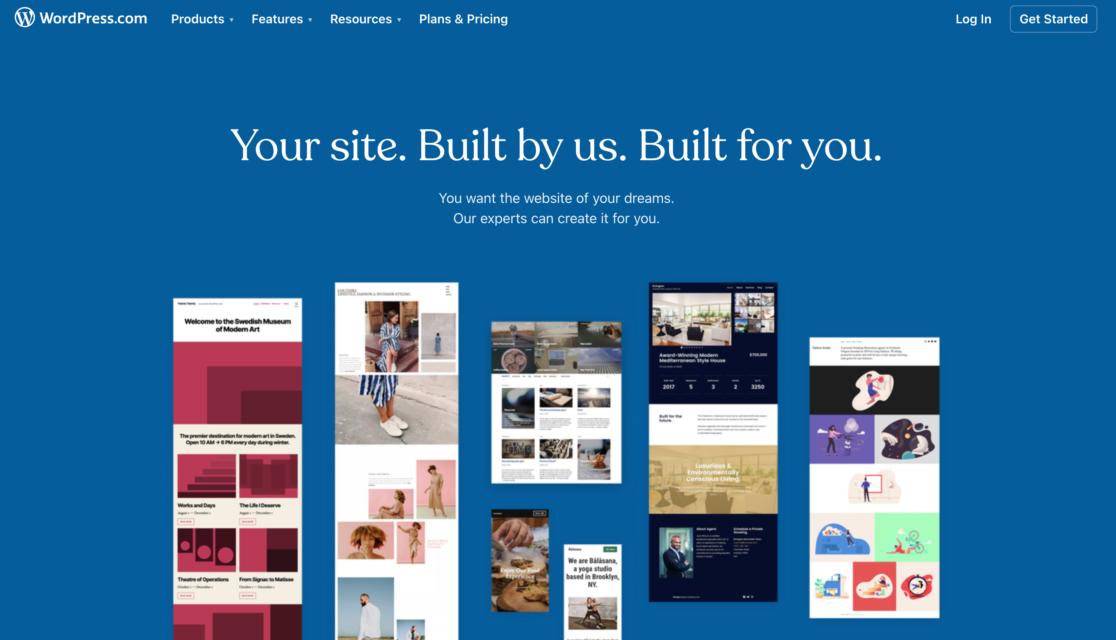 Built by WordPress.com