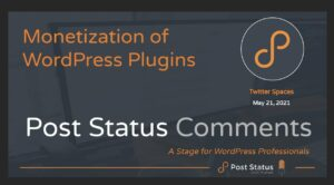Post Status Comments #1