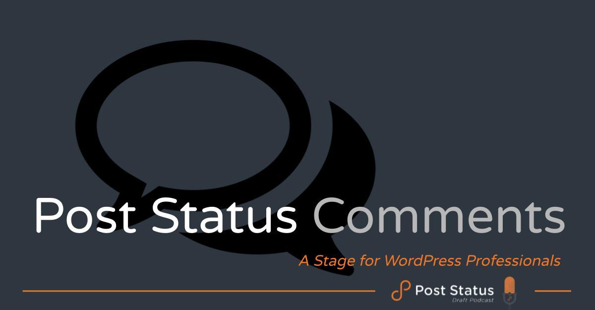 Post Status Comments