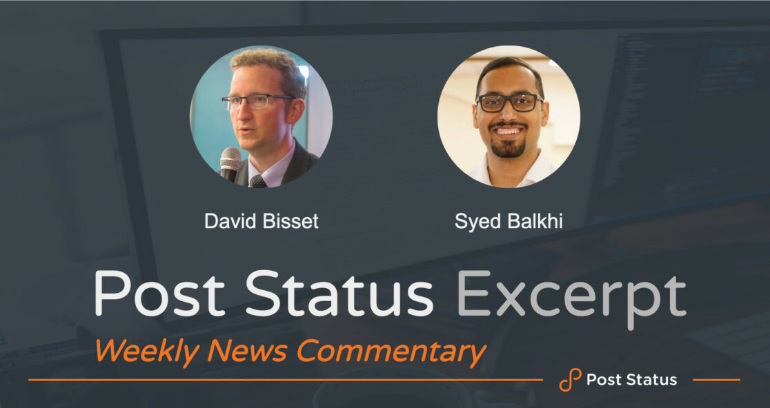 Syed Balkhi with David Bisset on The Excerpt