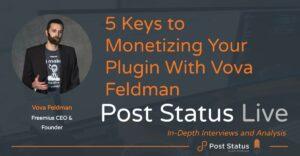 Monetizing Your Plugin with Vova Feldman